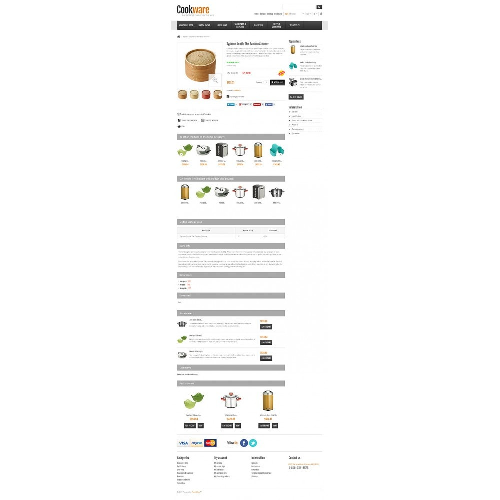 theme - Kunst & Kultur - Responsive Cookware Shop - 7