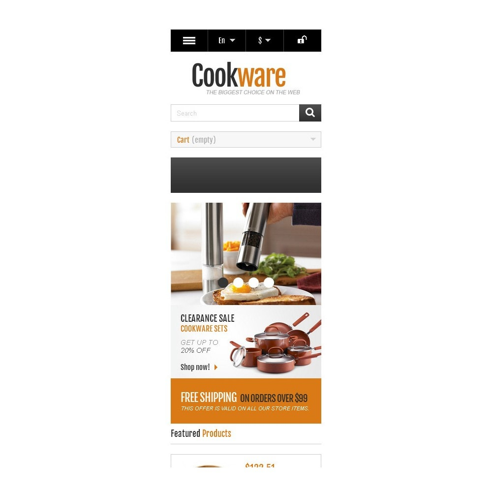 theme - Искусство и Культура - Responsive Cookware Shop - 10