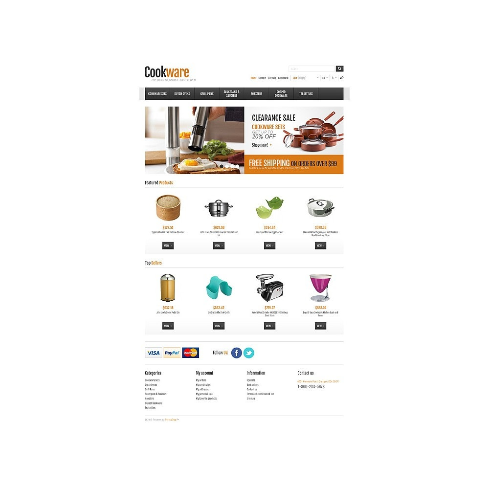 theme - Искусство и Культура - Responsive Cookware Shop - 11