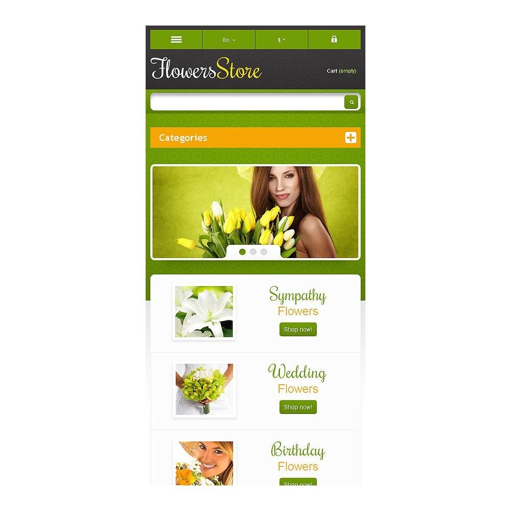 theme - Подарки, Цветы и праздничные товары - Responsive Flowers Store - 9