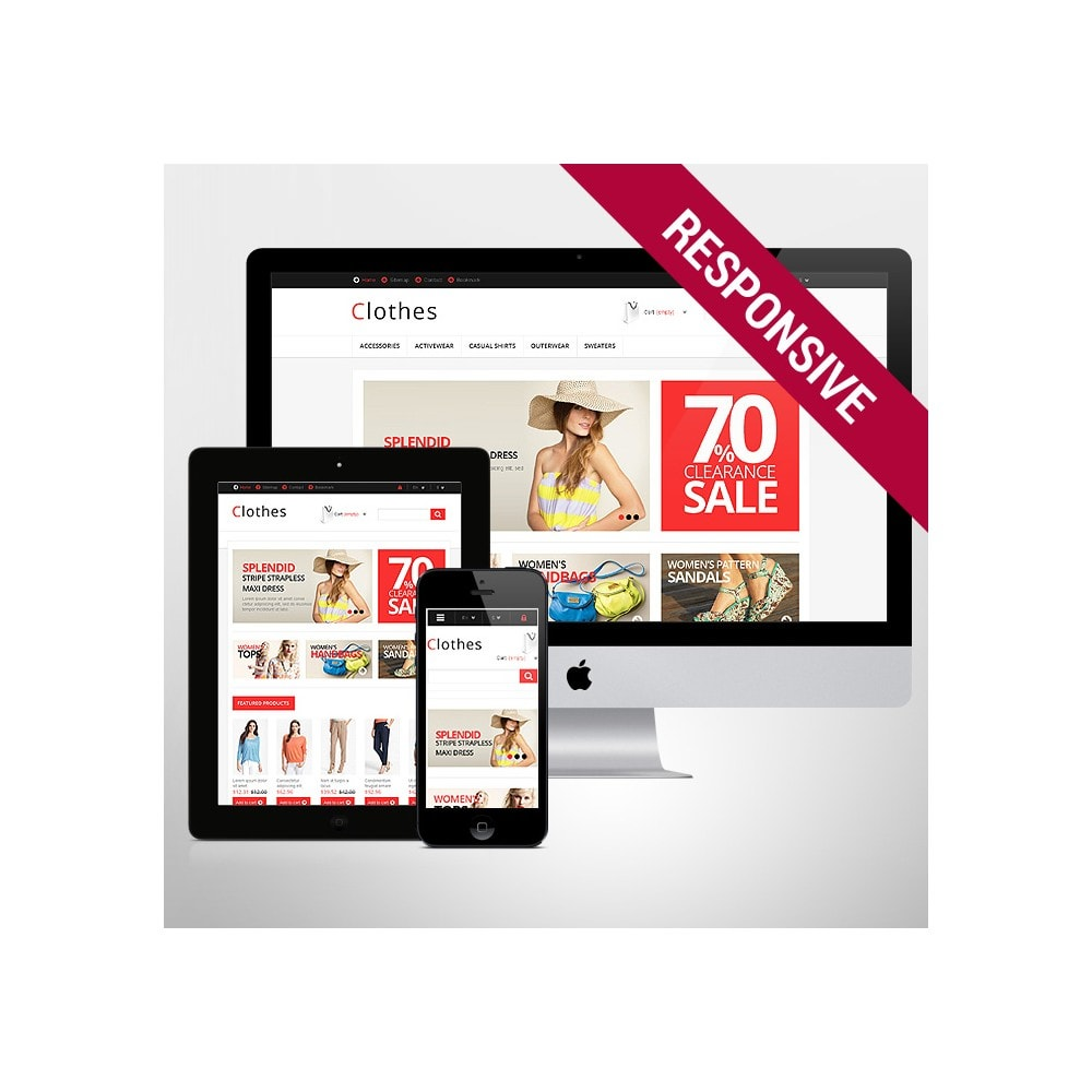 theme - Mode & Schoenen - Responsive Clothing Store - 1
