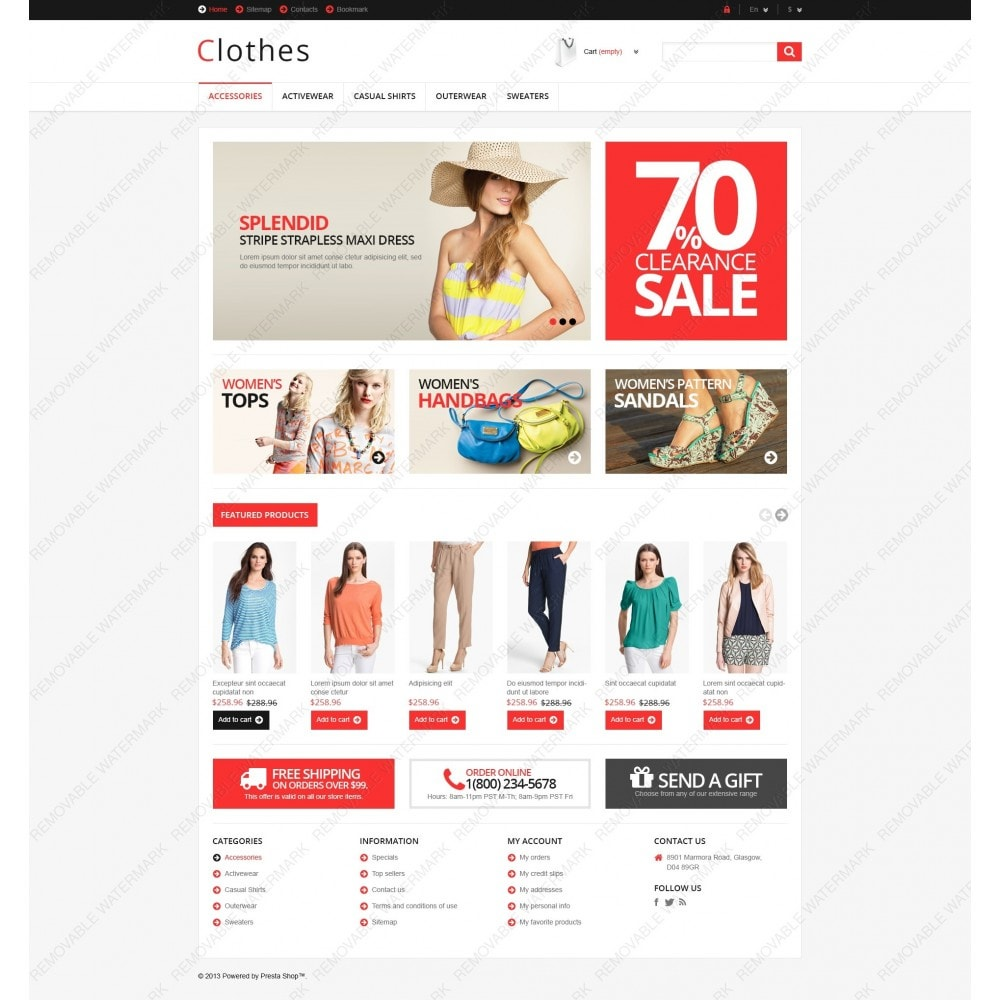 theme - Mode & Schuhe - Responsive Clothing Store - 6