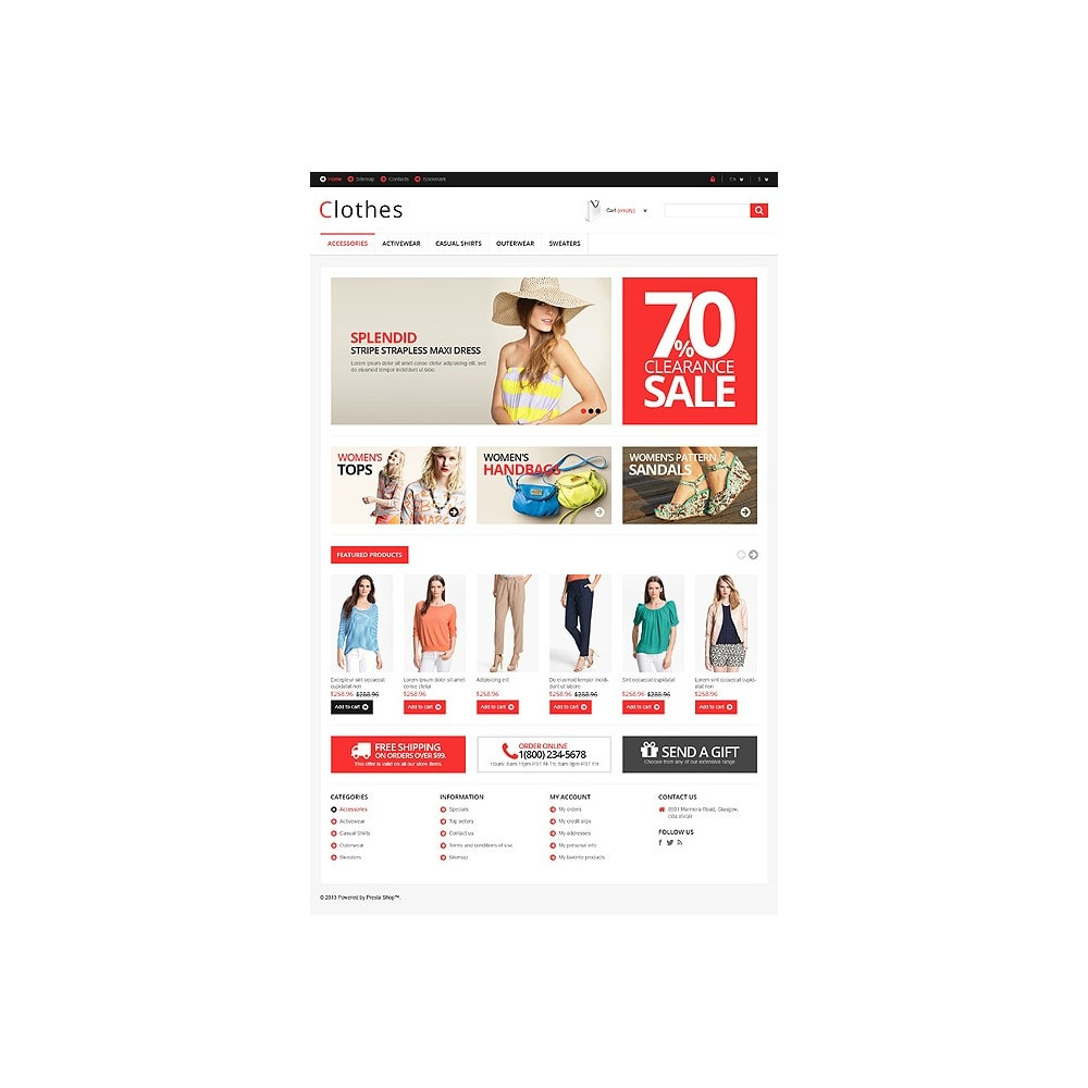 theme - Mode & Schoenen - Responsive Clothing Store - 11