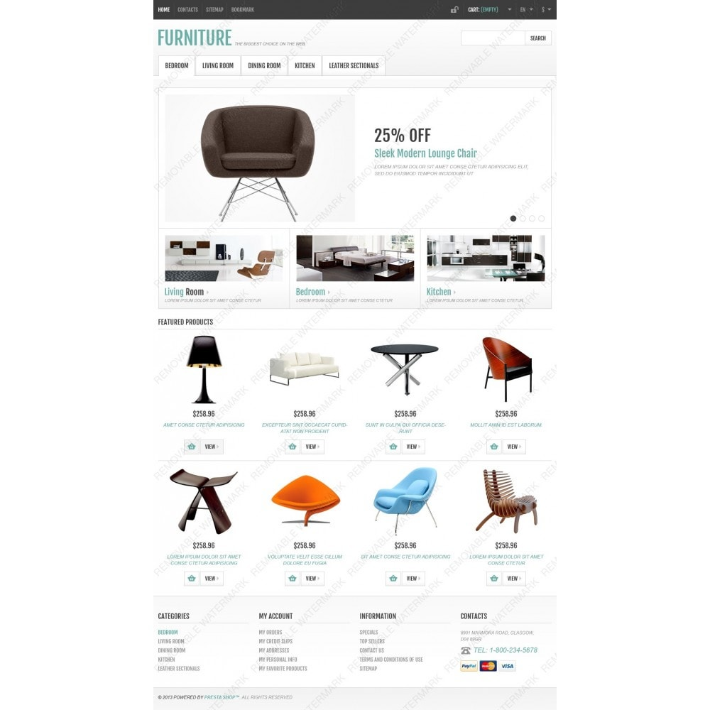 theme - Kunst & Kultur - Responsive Furniture Store - 4
