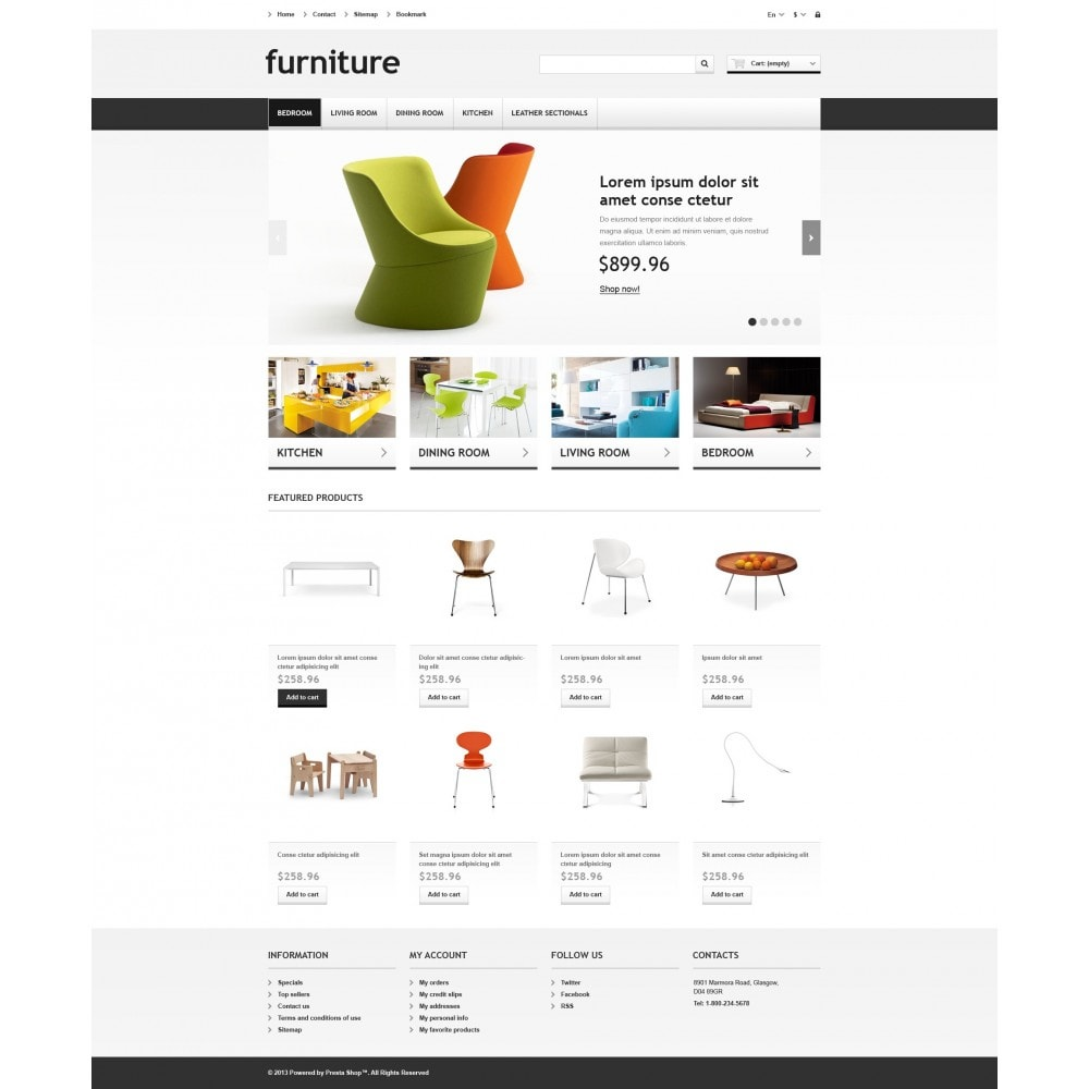 theme - Kunst & Kultur - Responsive Furniture Store - 5