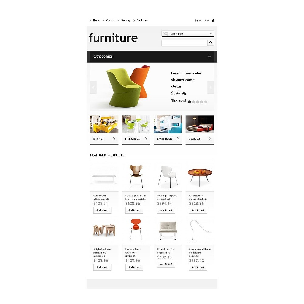 theme - Kunst & Kultur - Responsive Furniture Store - 8