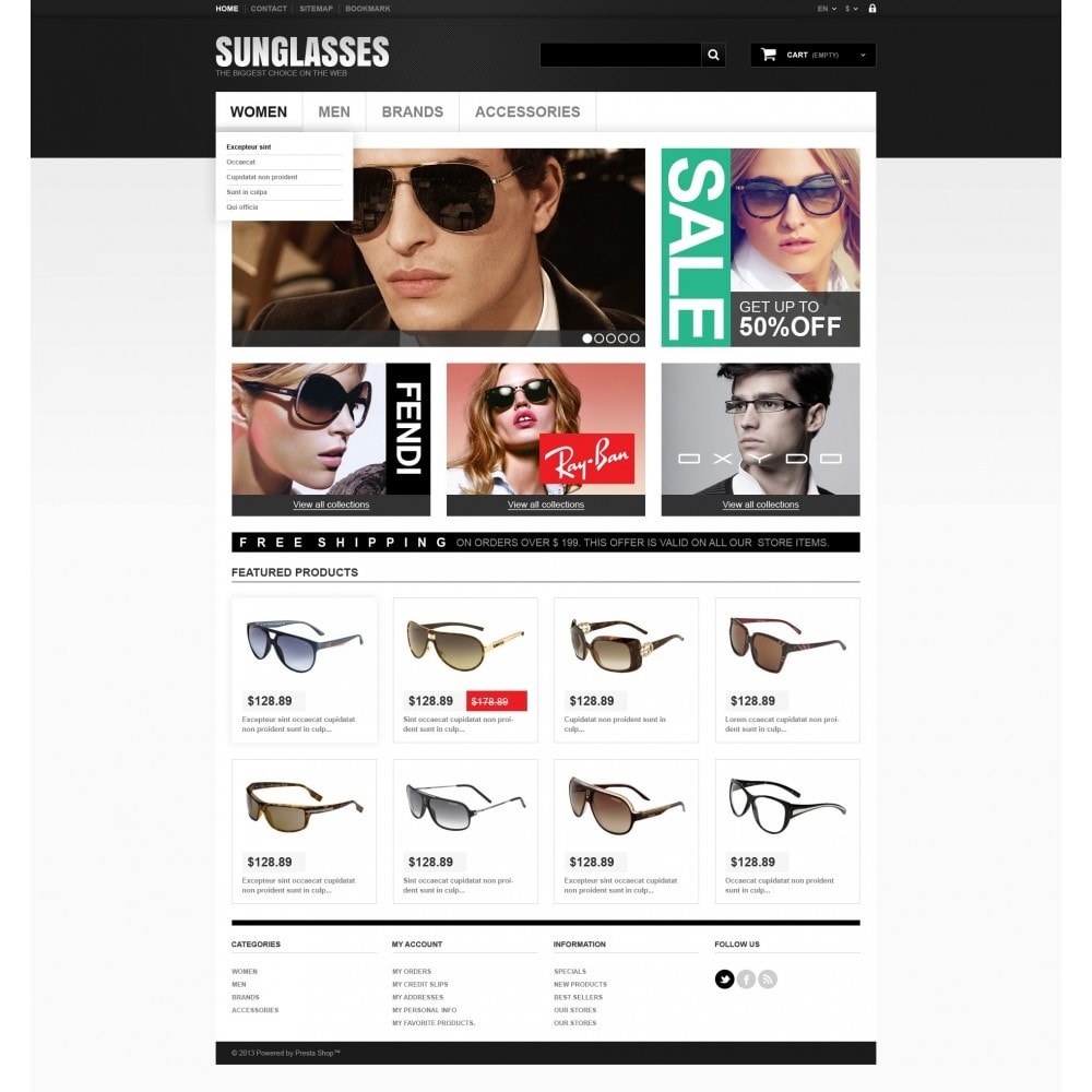 theme - Moda & Calzature - Sunglasses Boutique - 5