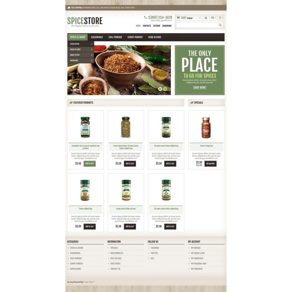theme - Cibo & Ristorazione - Responsive Spice Store - 2