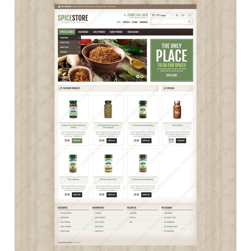 theme - Gastronomía y Restauración - Responsive Spice Store - 6