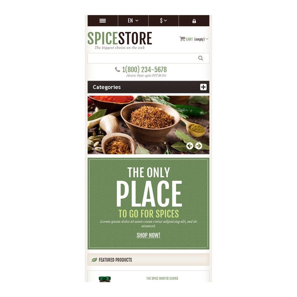 theme - Gastronomía y Restauración - Responsive Spice Store - 9