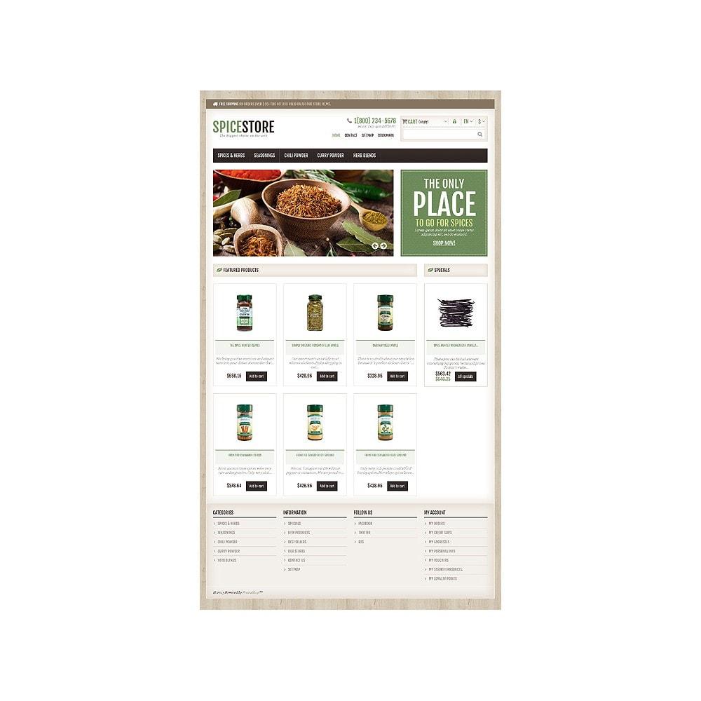 theme - Gastronomía y Restauración - Responsive Spice Store - 11