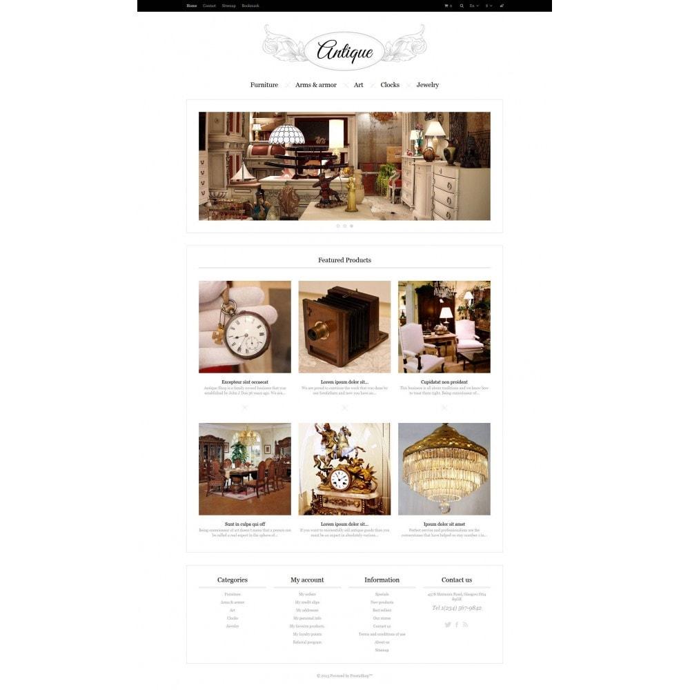 theme - Hogar y Jardín - Responsive Antiques Store - 5