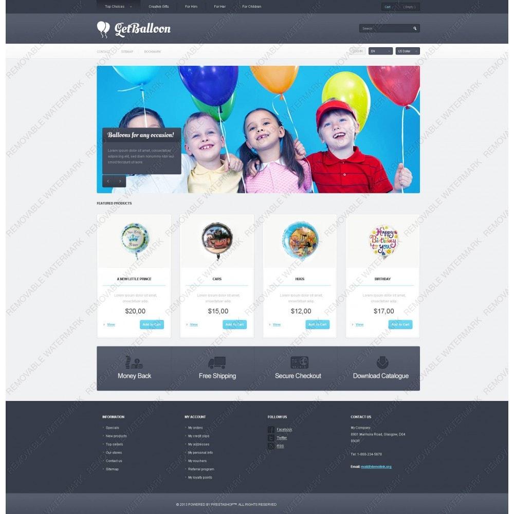 theme - Enfants & Jouets - Responsive Balloons Store - 5