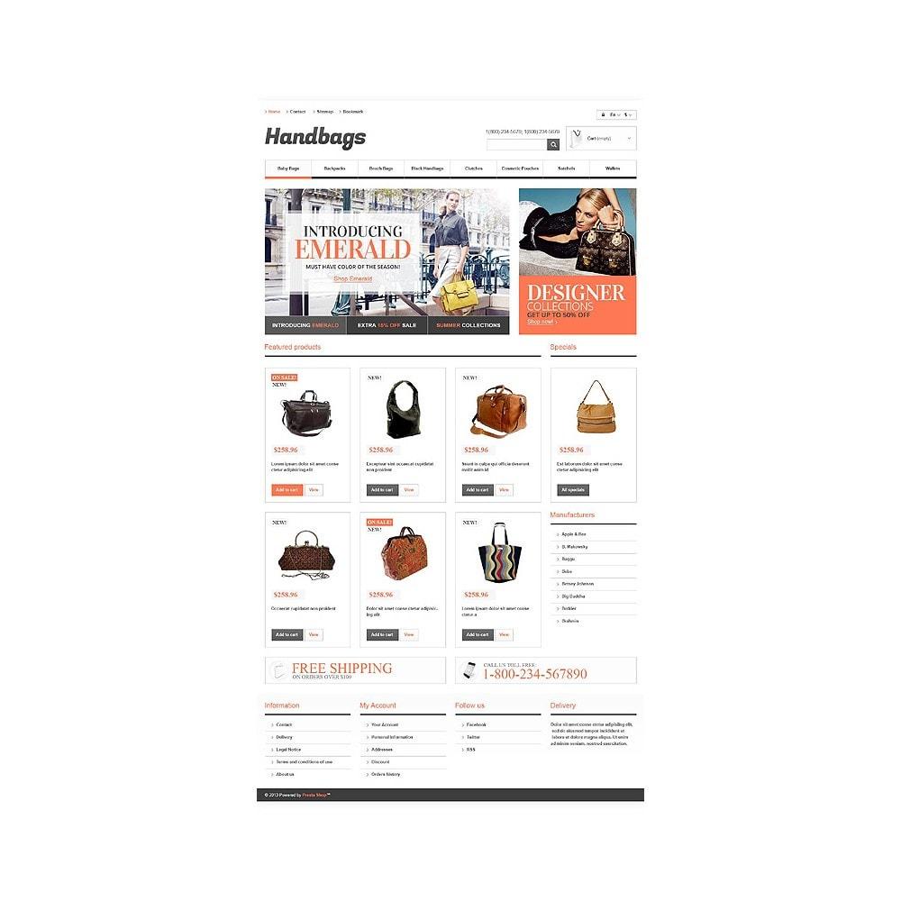 theme - Mode & Chaussures - Responsive Handbags Boutique - 10