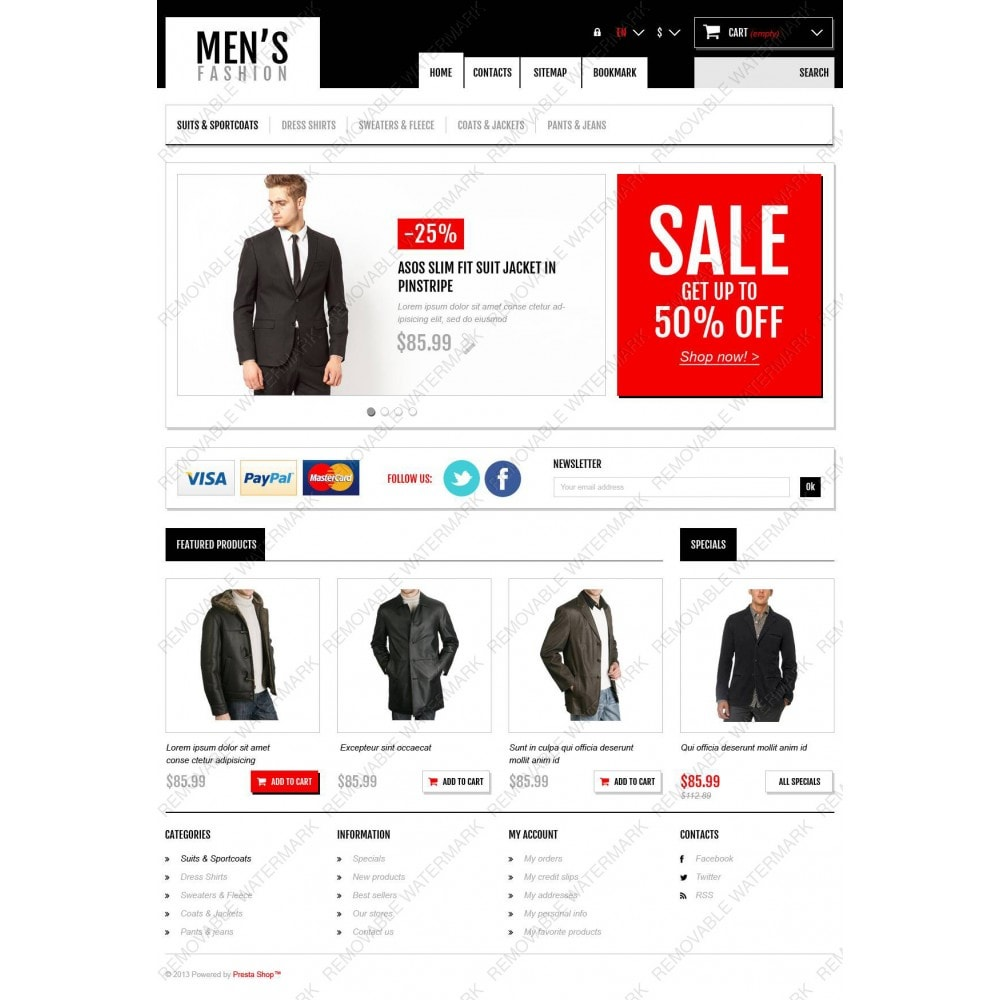 theme - Мода и обувь - Men's Fashion Boutique - 3