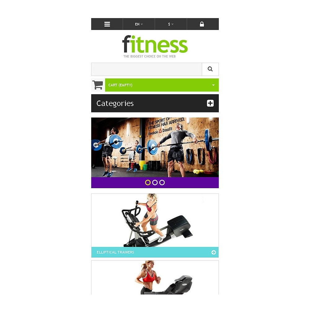theme - Sport, Loisirs & Voyage - Responsive Fitness Store - 8