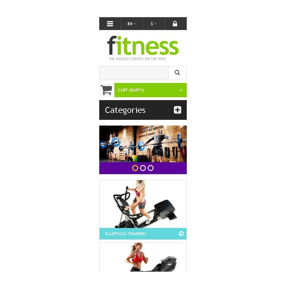theme - Sport, Rozrywka & Podróże - Responsive Fitness Store - 9
