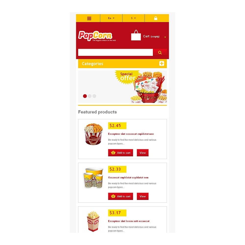 theme - Alimentos & Restaurantes - Responsive Pop Corn Store - 9