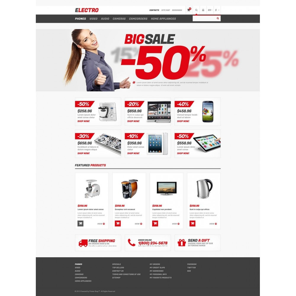theme - Elektronica & High Tech - Responsive Electro Store - 2