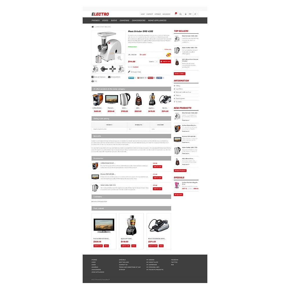 theme - Elektronica & High Tech - Responsive Electro Store - 6