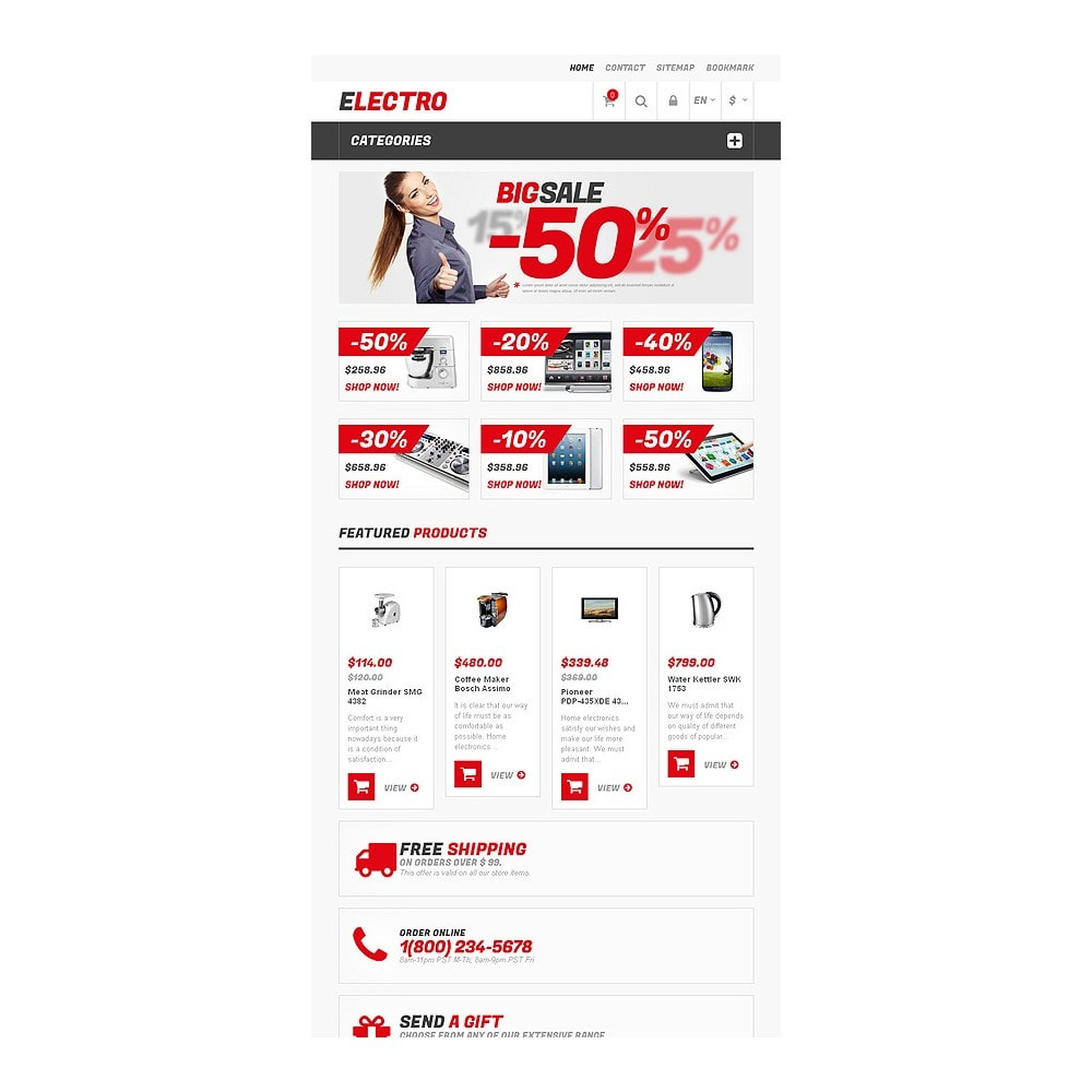 theme - Elektronika & High Tech - Responsive Electro Store - 7