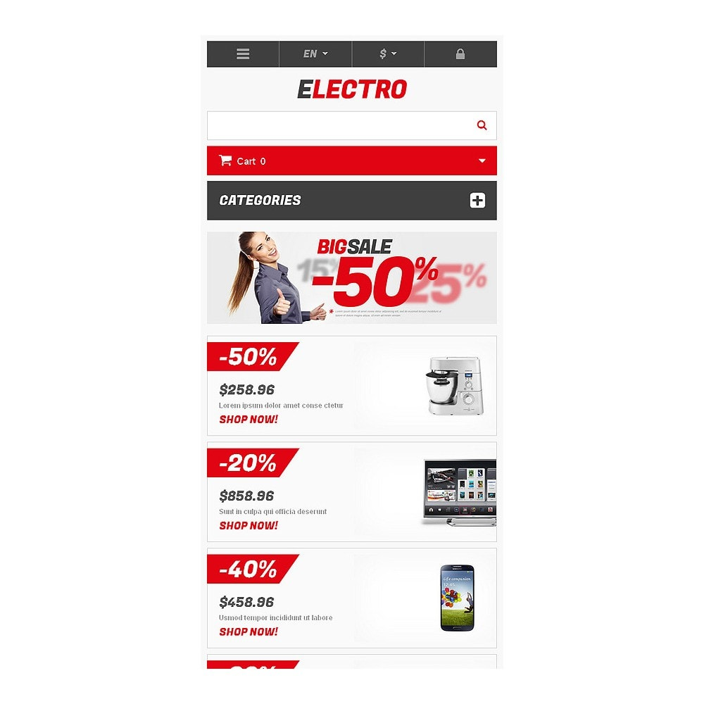 theme - Elektronica & High Tech - Responsive Electro Store - 8