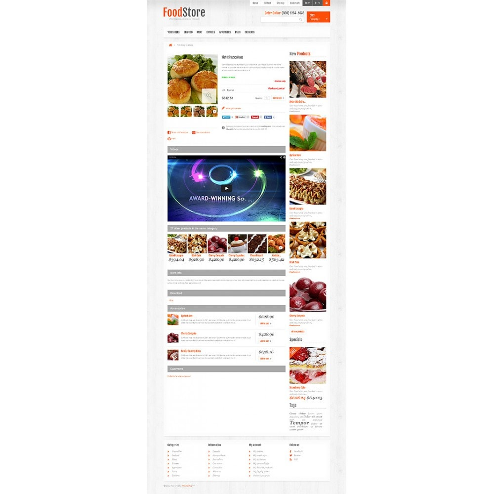 theme - Food & Restaurant - Responsive Food Store - 6