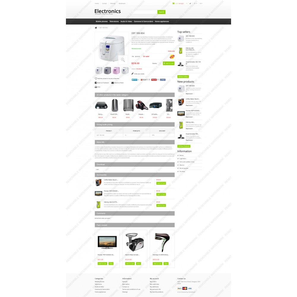 theme - Elektronik & High Tech - Responsive Electronics Store - 3