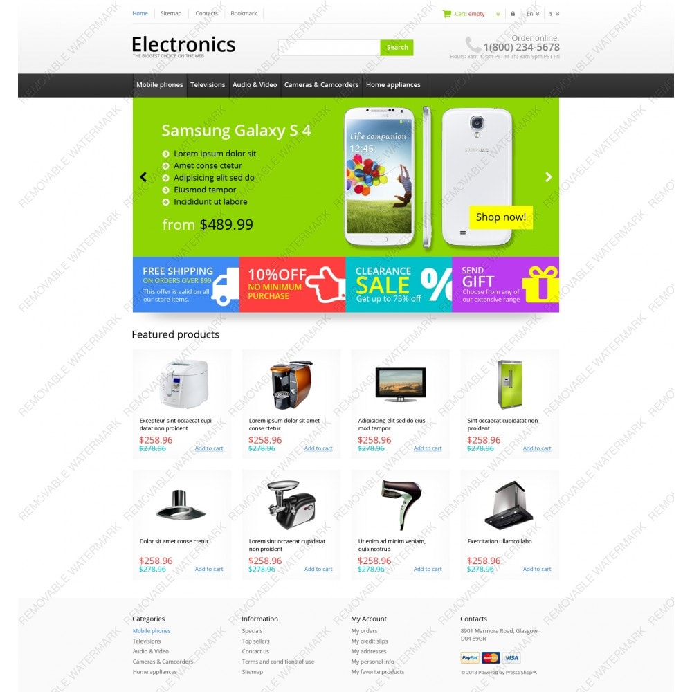 theme - Elektronica & High Tech - Responsive Electronics Store - 6