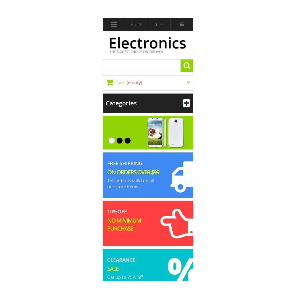 theme - Elektronica & High Tech - Responsive Electronics Store - 10