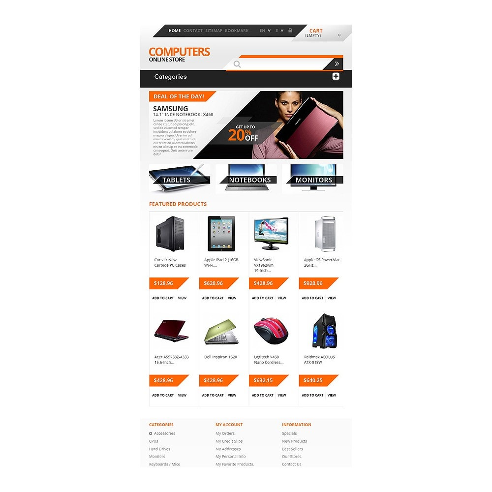 theme - Electrónica e High Tech - Responsive Computers Store - 7