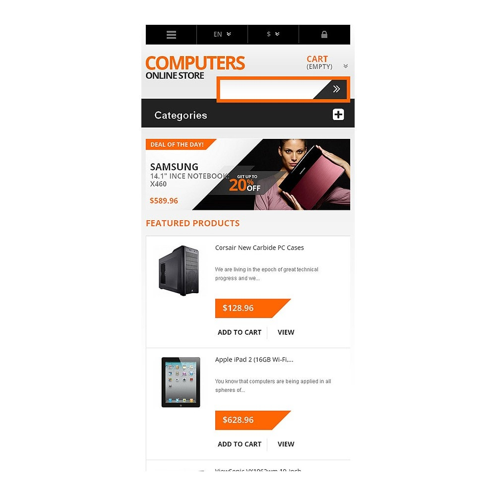 theme - Elektronica & High Tech - Responsive Computers Store - 8