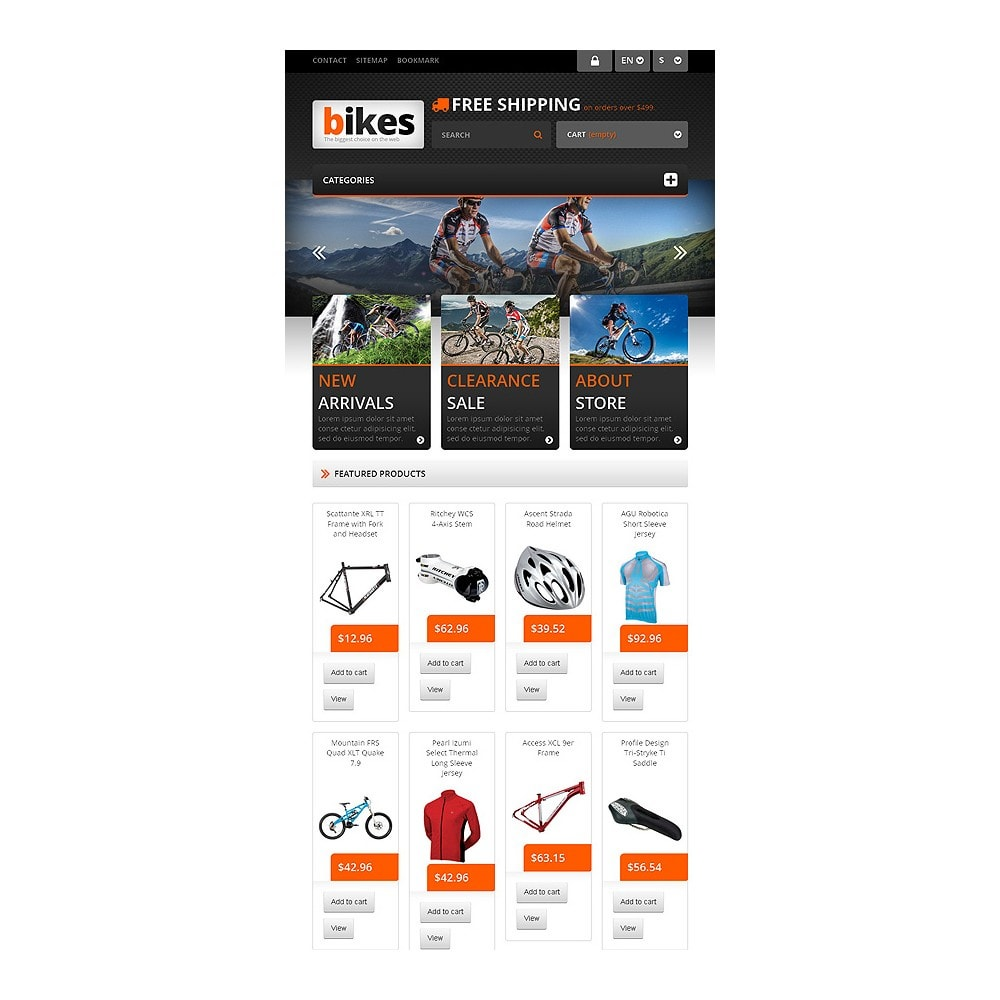 theme - Sport, Loisirs & Voyage - Responsive Bikes Store - 7