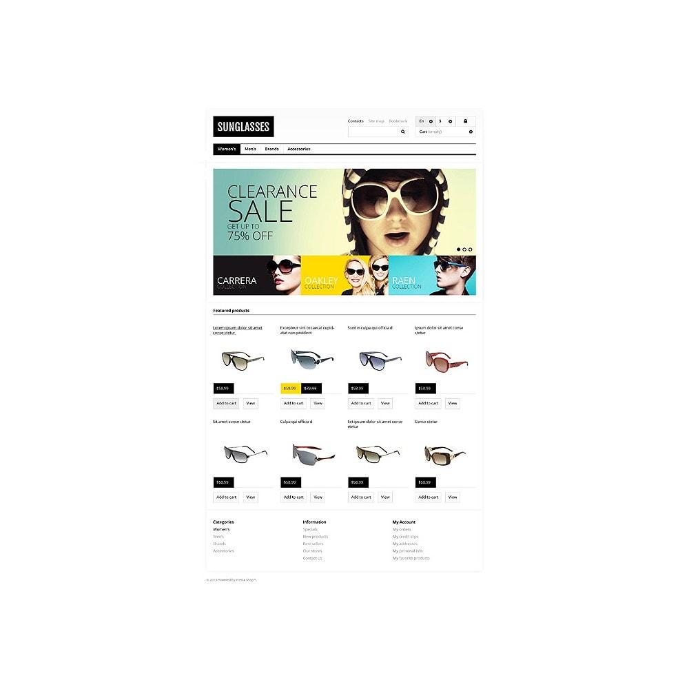 theme - Мода и обувь - Responsive Sunglasses Store - 10