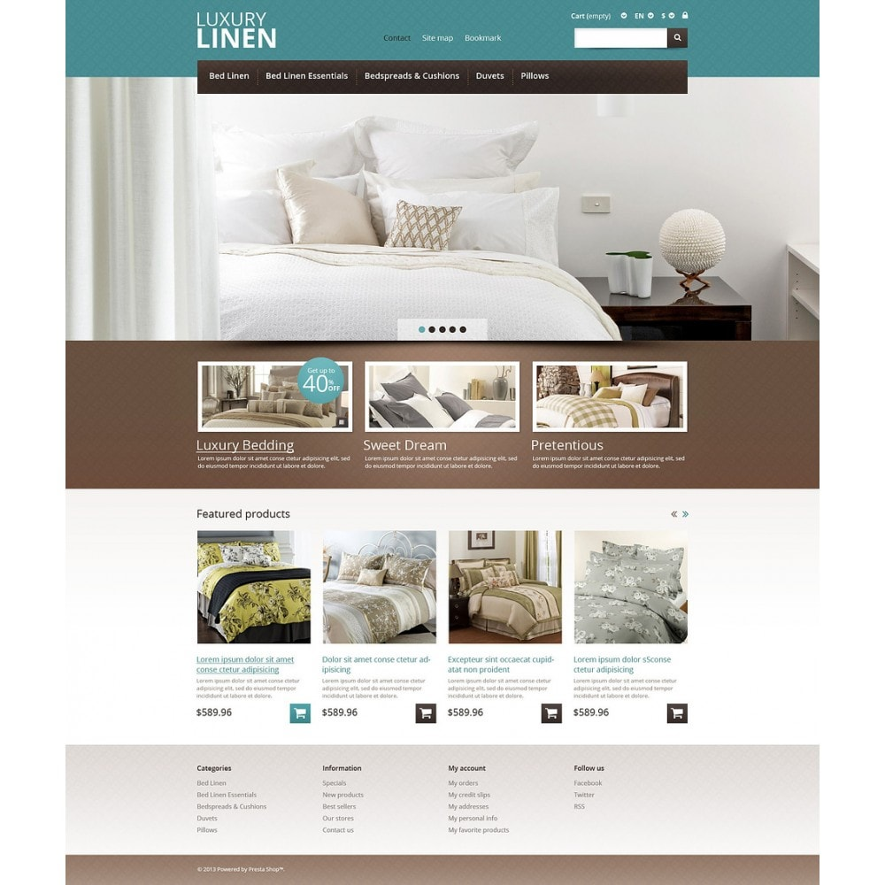 theme - Искусство и Культура - Linen Store - 2