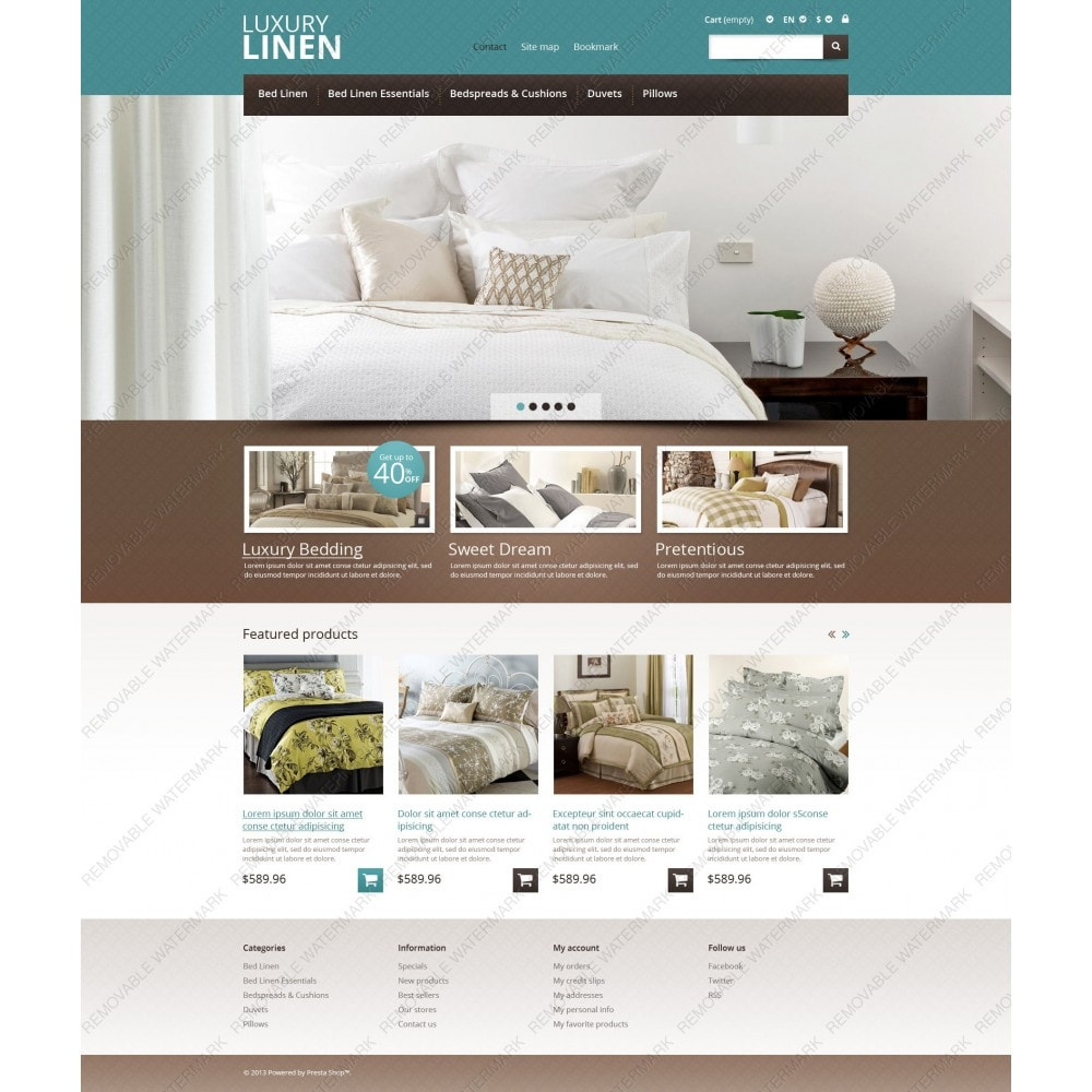 theme - Arte & Cultura - Linen Store - 3
