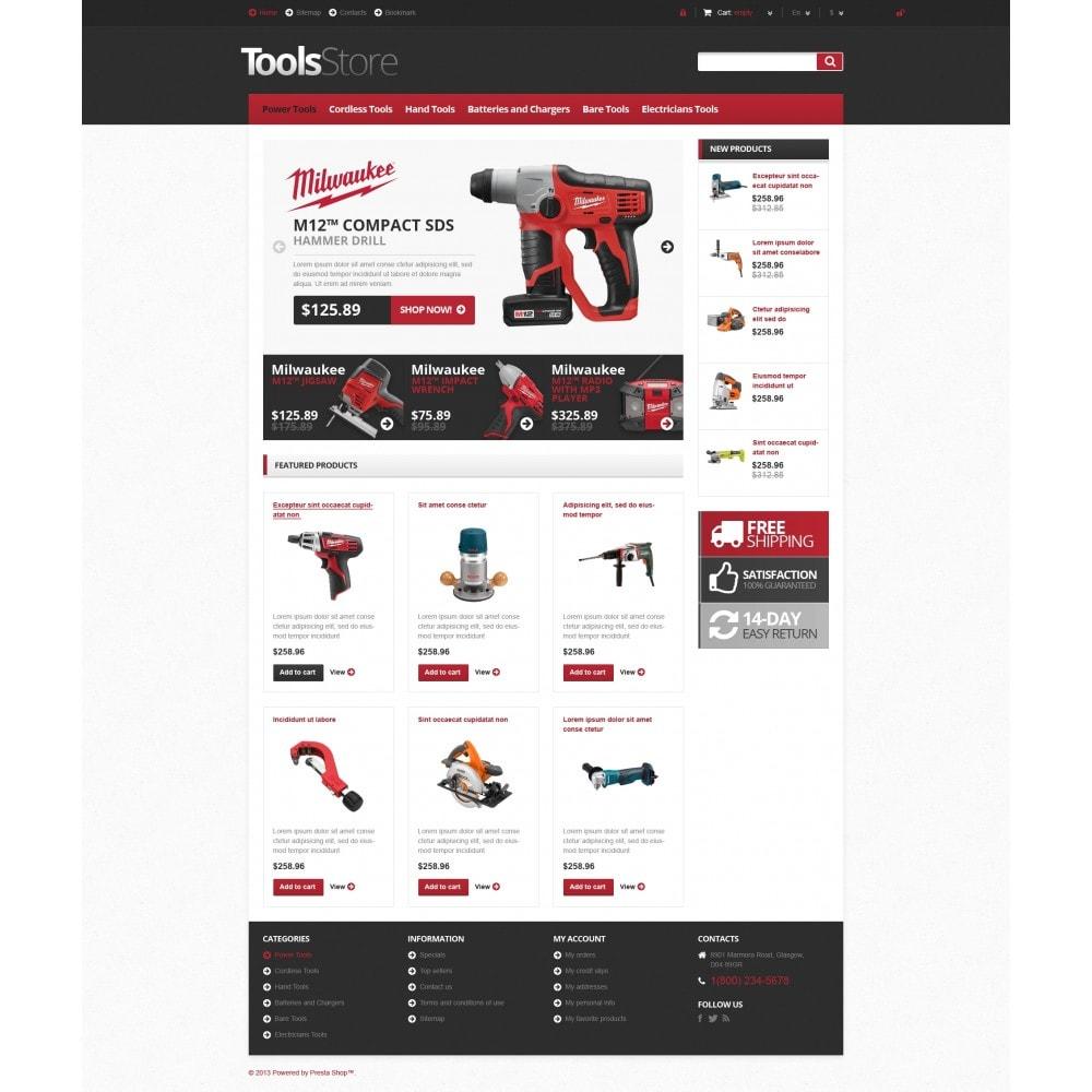theme - Huis & Buitenleven - Responsive Tools Store - 4