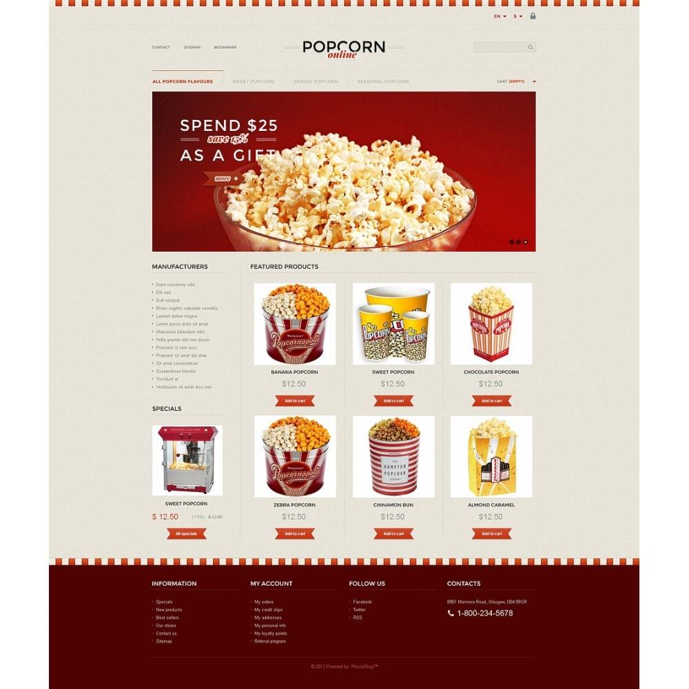 theme - Продовольствие и рестораны - Responsive Popcorn Store - 2