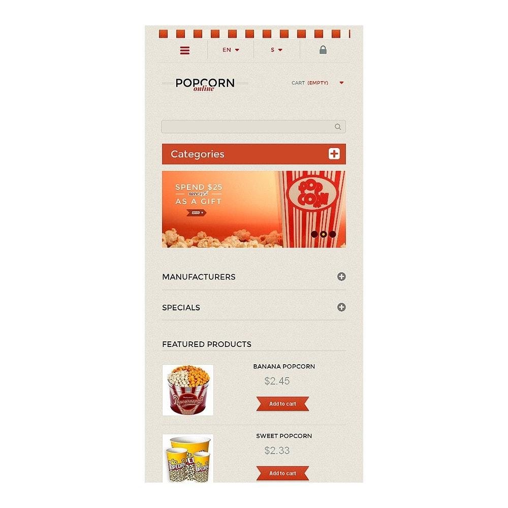 theme - Alimentation & Restauration - Responsive Popcorn Store - 8