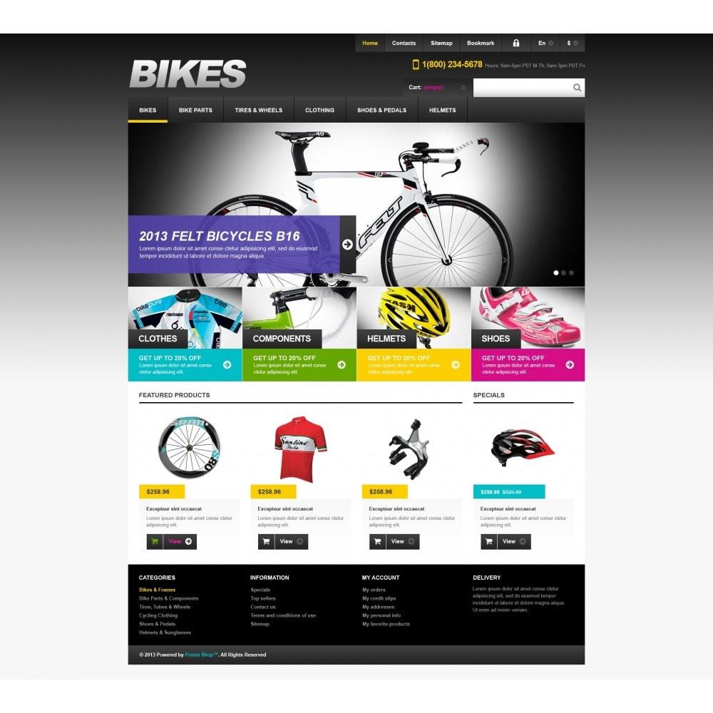 theme - Sport, Loisirs & Voyage - Responsive Bikes Store - 4