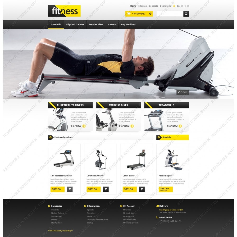theme - Sports, Activities & Travel - Responsive Fitness Store - 5