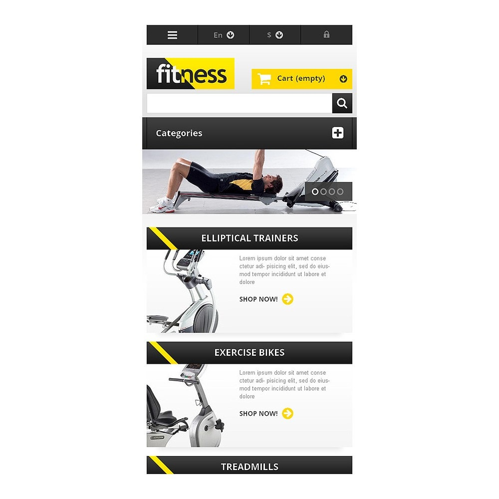 theme - Sports, Activities & Travel - Responsive Fitness Store - 8