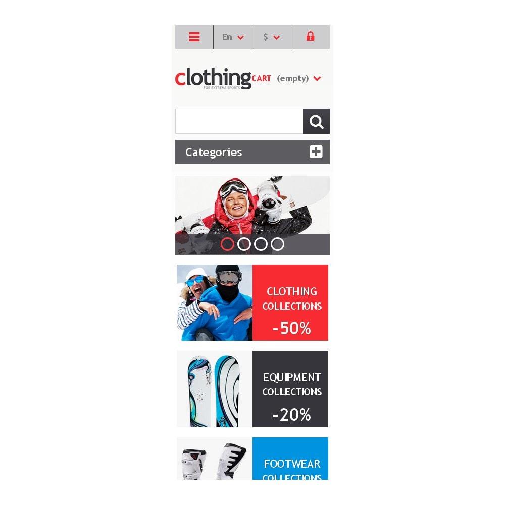 theme - Спорт и Путешествия - Responsive Clothing Store - 9