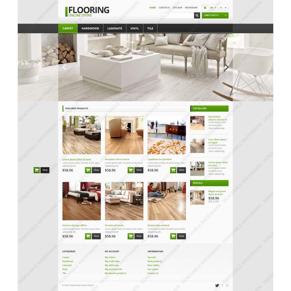 theme - Art & Culture - Responsive Flooring Store - 3