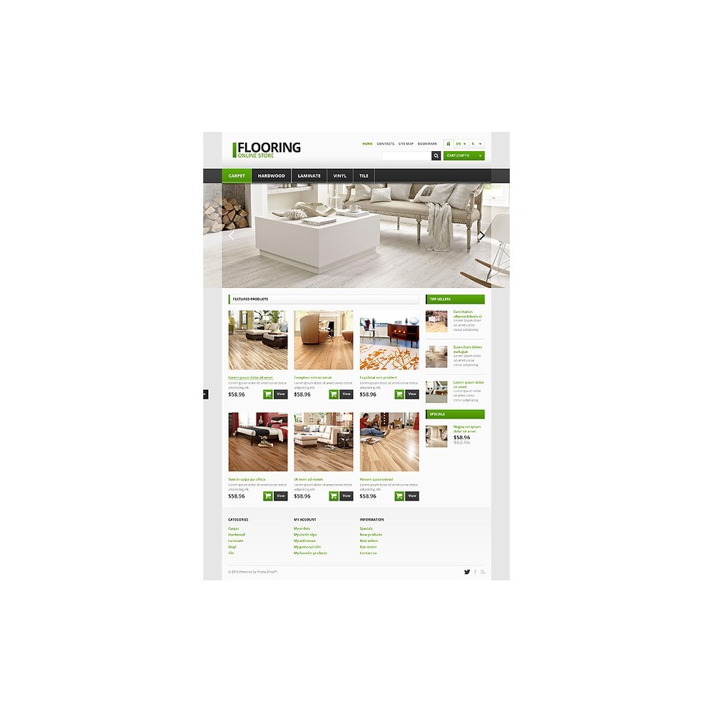 theme - Art & Culture - Responsive Flooring Store - 10