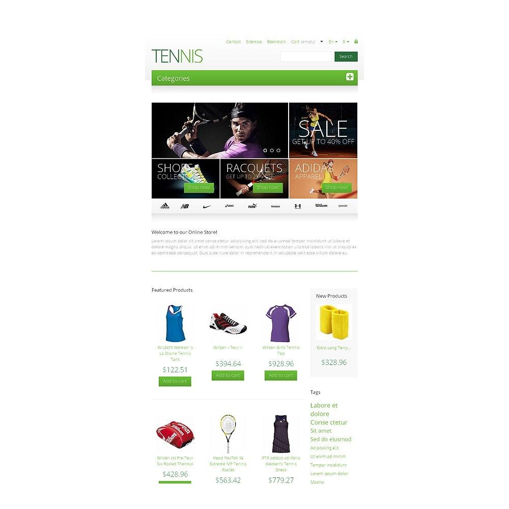 theme - Desporto, Actividades & Viagens - Responsive Tennis Store - 7