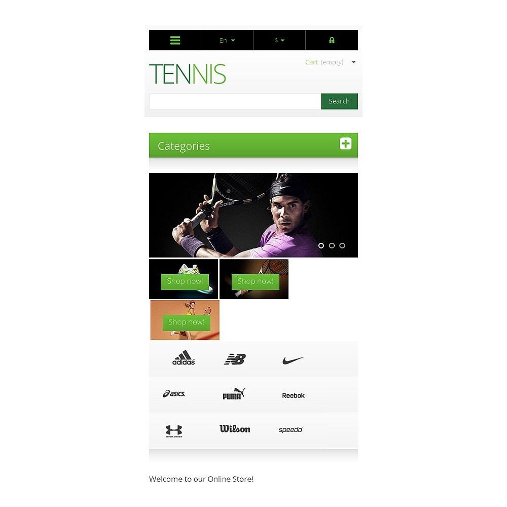 theme - Deportes, Actividades y Viajes - Responsive Tennis Store - 8