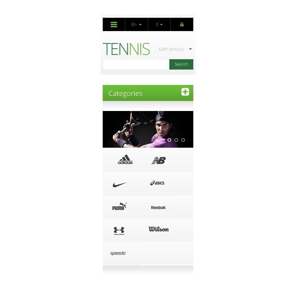 theme - Deportes, Actividades y Viajes - Responsive Tennis Store - 9