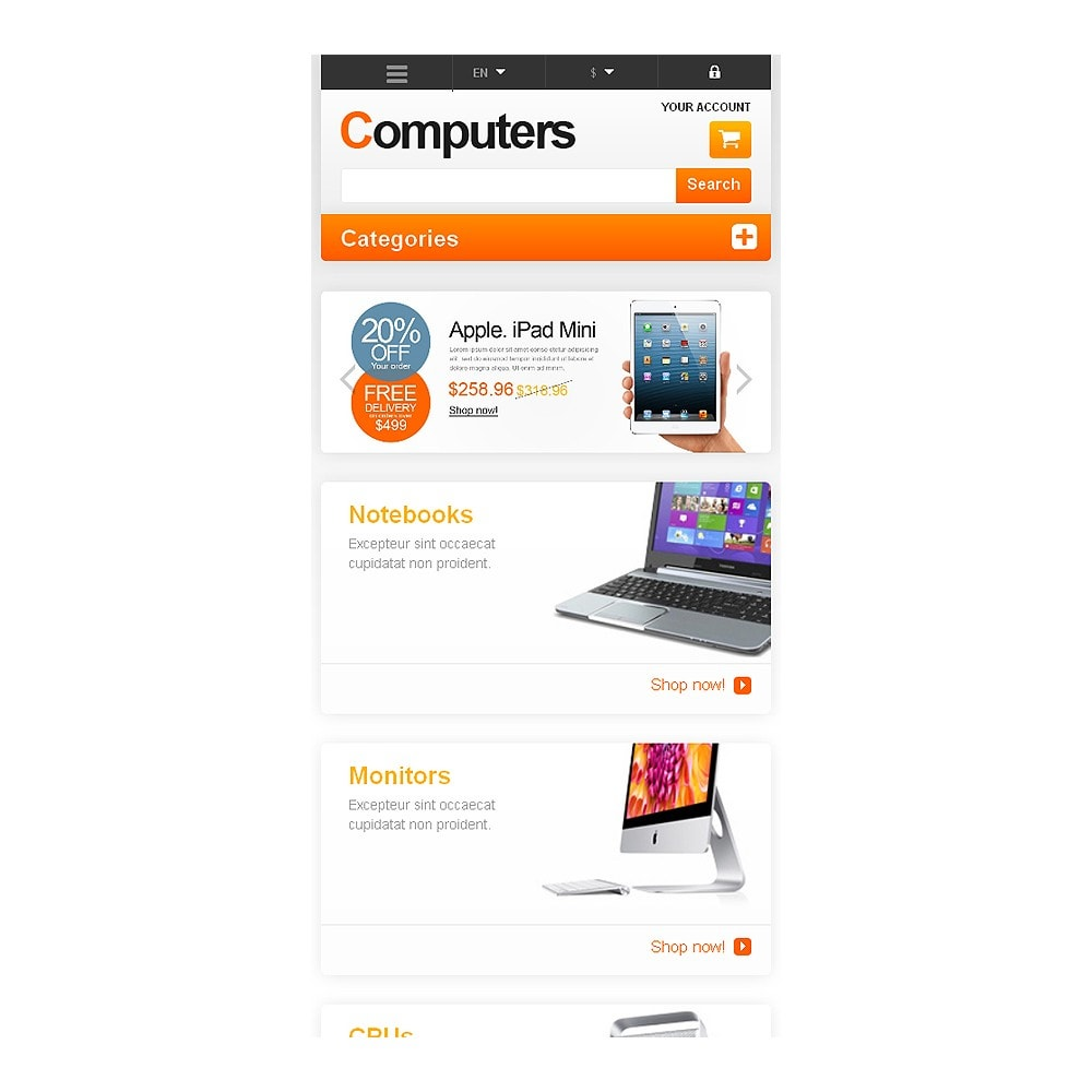 theme - Electronique & High Tech - Responsive Computers Store - 8