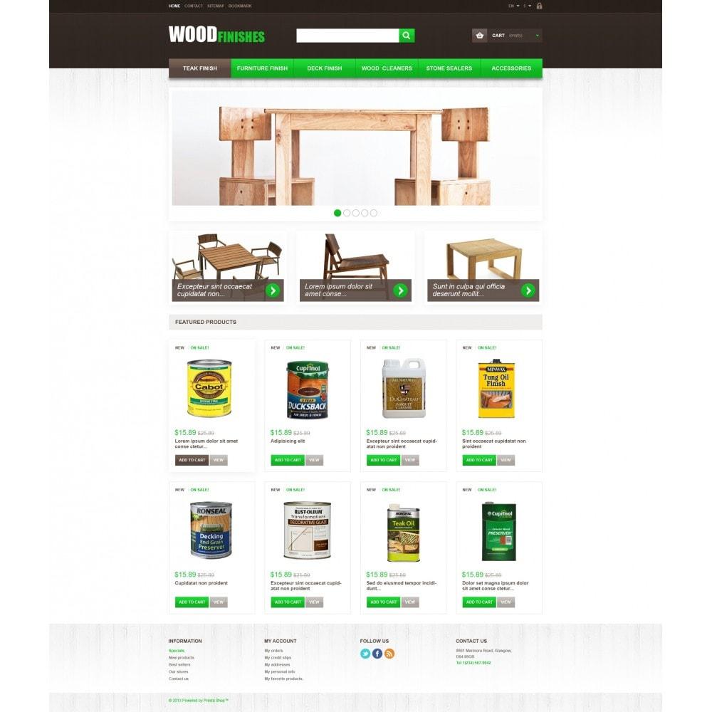 theme - Kunst & Kultur - Wood Finishes - 4
